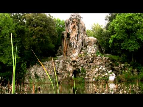 The Appennine Colossus by Giambologna