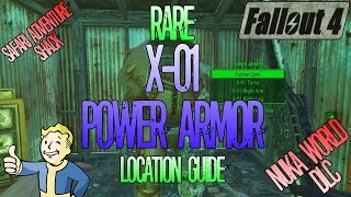 Fallout 4 | X-01 Power Armour | Location Guide | Safari Adventure Shack | Nuka World DLC