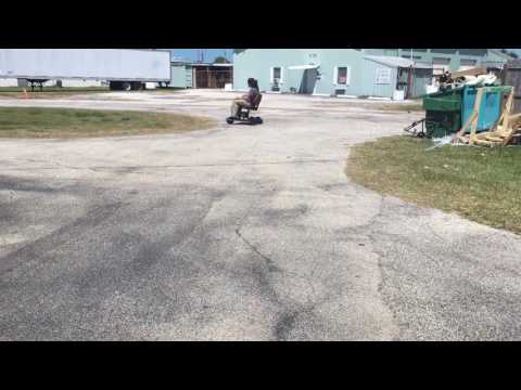 Gas Motorized mobility scooter ouch moped motor