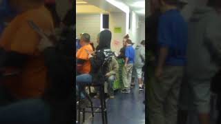 Bubba band at seagoville middle school