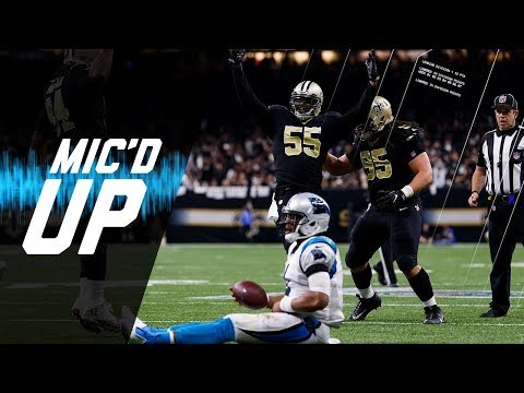 """Panthers vs. Saints Mic'd Up """"I Knew You Weren't Going for it"""" (NFC Wild Card) 