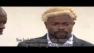 Imeh Bishop as The Legal Lawyer -  Nollywood Movie Clip