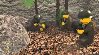 LEGO война 1944 сша
