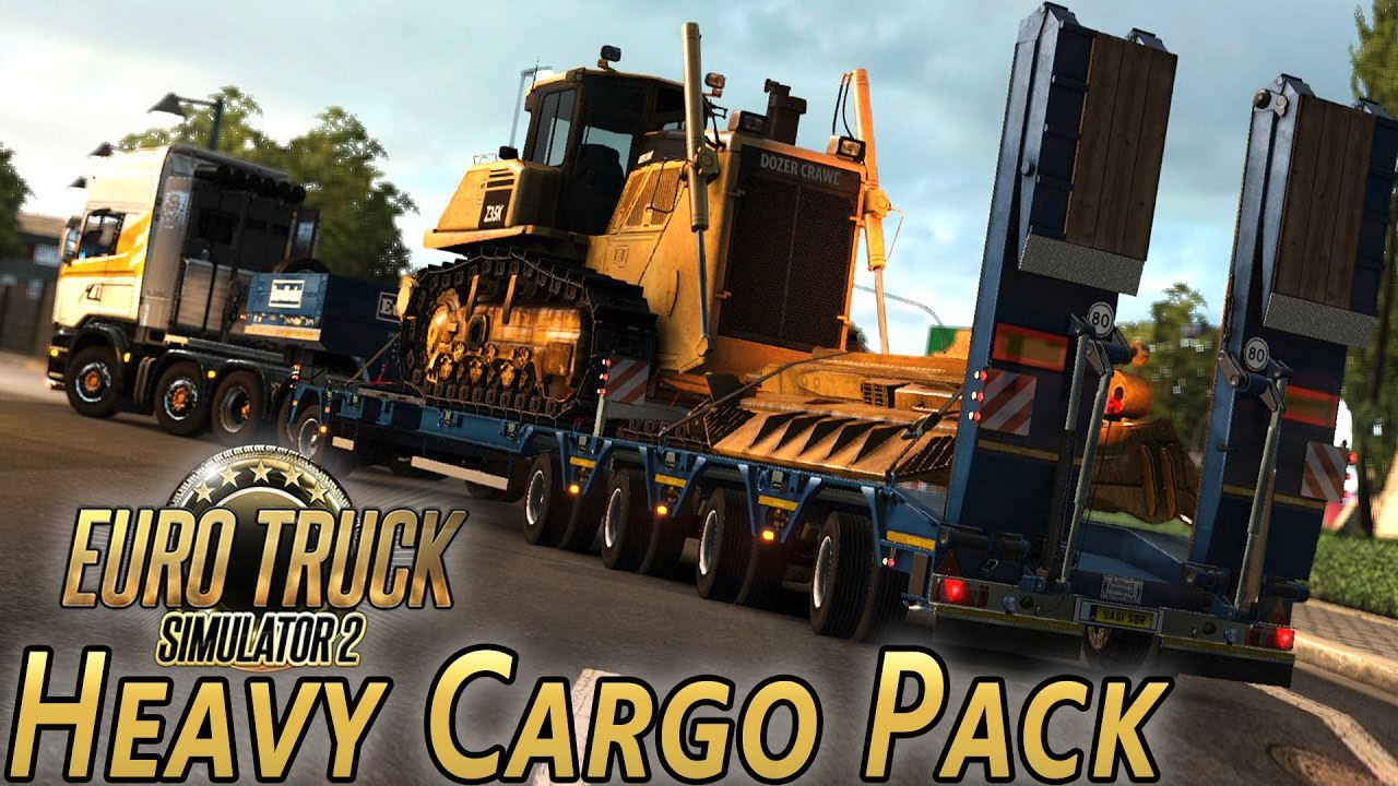 heavy cargo pack dlc euro truck simulator 2 with wheel. Black Bedroom Furniture Sets. Home Design Ideas
