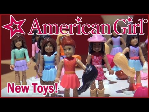 American Girl NEW Mega Bloks Girl Of The Year Cute Playsets By Mattel