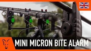 FOX MINI MICRON ALARMS - Carp fishing bite alarms