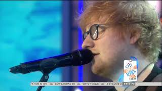 [HD] Ed Sheeran - Perfect (Live On Today Show 12/8/2017)