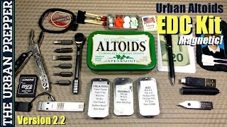 Urban Altoids EDC Tin (v2.2) by TheUrbanPrepper