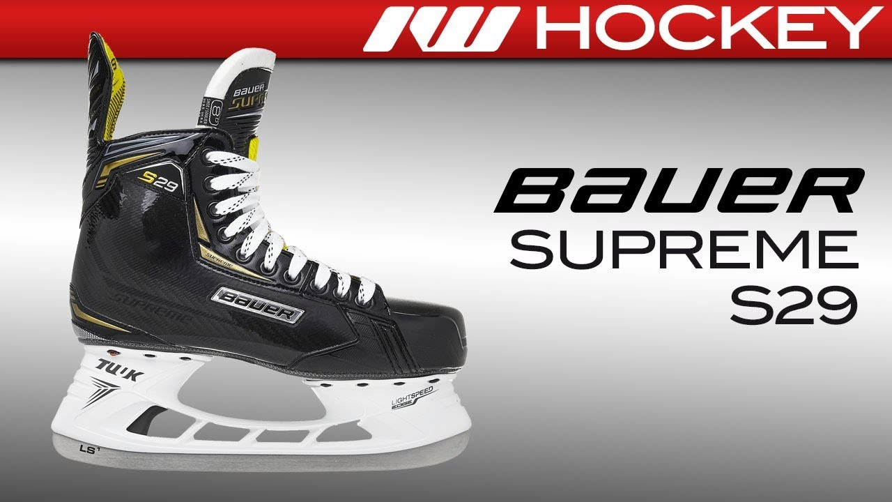 Bauer Supreme S29 Skate Review - YouTube