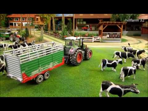 COWS BACK HOME By Rc  TRACTORS -farm Animals In Action