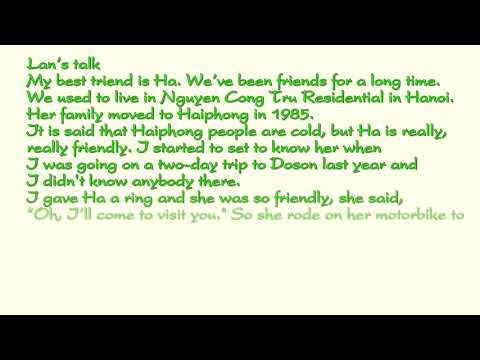 Bài Nghe Tiếng Anh Lớp 11 Unit 1 Listening