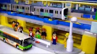 プラレール電車27 【高田馬場駅】 Plarail Trains 27 thumbnail