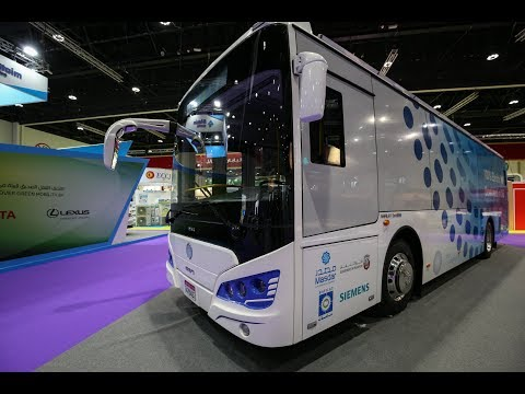 Masdar unveils Abu Dhabi-built Eco Bus