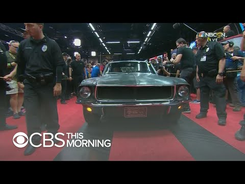 """Bullitt"" Mustang auctioned for $3.74 million"