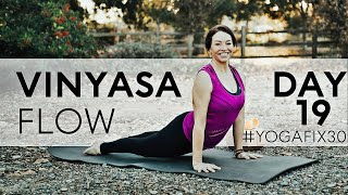 Vinyasa Flow Hip Openers and Bird Of Paradise Day 19 With Fightmaster Yoga