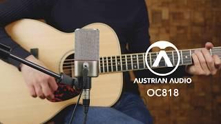 Recording techniques using the Austrian Audio OC818 microphone's dual-output design