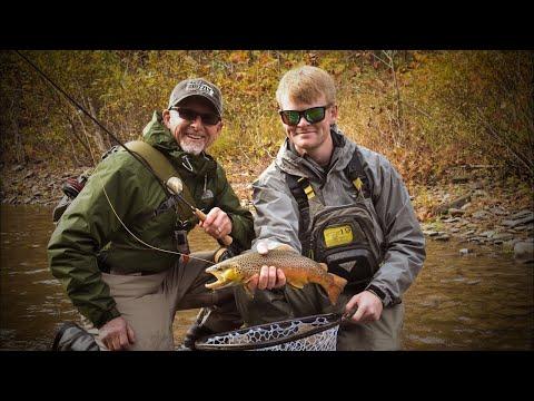Fly Fishing Pine Creek PA During Fall Caddis Hatch