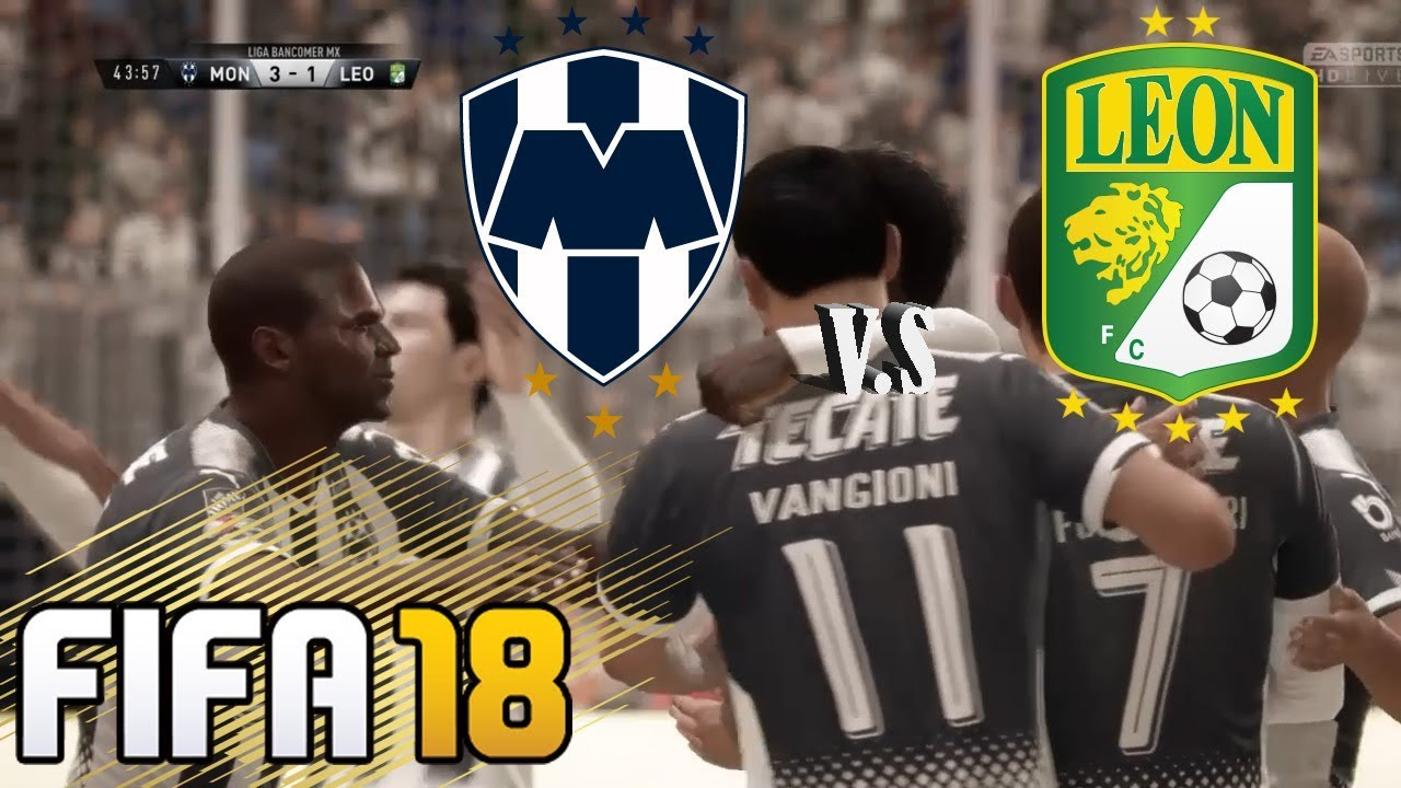 Rayados Vs León Liga Mx Clausura 2018 Jornada 5 Hd Fifa 18