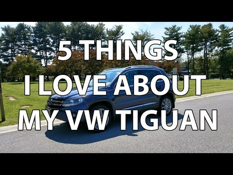 VW Tiguan 2.0T 4Motion Review & 5 Things That I love About It (Watch before you buy Tiguan)