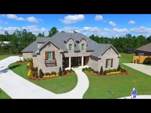 The 2015 Parade of Homes show case home located at 3774 Riverwood Circle South, Theodore, Alabama.