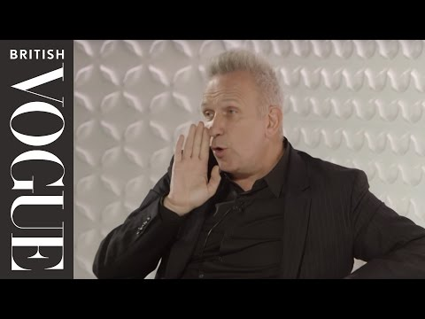 Jean Paul Gaultier and Erin O'Connor at the Vogue Festival 2015 | British Vogue