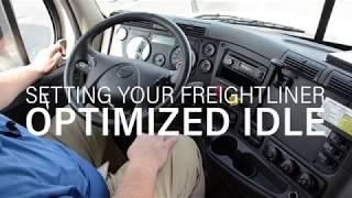Celadon Maintenance Matters: Freightliner Optimized Idle