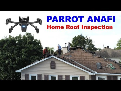 PARROT ANAFI - Home Roof Inspection Drone