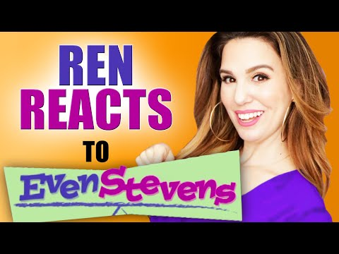 "Ren REACTS To Even Stevens | EPISODE 2 ""Stevens Genes"""