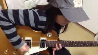 ロックスミス Audrey ( 9 years old) Plays Guitar - Cult Of Personali...