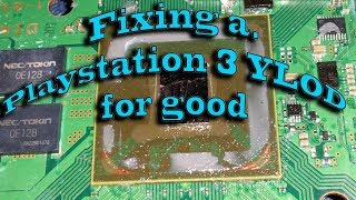Fixing a Playstation 3 YLOD for good