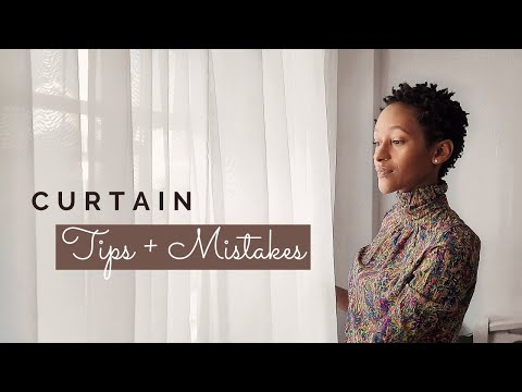 LET'S TALK CURTAINS// Curtain Tips + Mistakes I have made