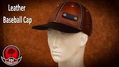 Leather Baseball Cap Pattern and Tutorioal