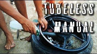 Cara Memasang Ban TUBELES YAMAHA BYSON [manual version]