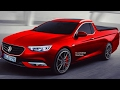 MAKING OF New 2018 Holden Commodore UTE @ Opel Insignia Sports Tourer Pickup #HOLDEN #OPEL