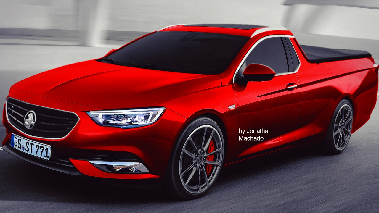 render new 2018 holden commodore ute opel insignia. Black Bedroom Furniture Sets. Home Design Ideas