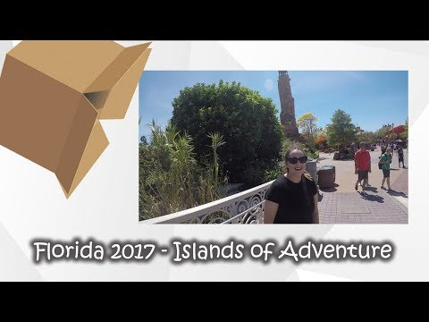 Florida Holiday 2017 - Islands of Adventure & Hogans Beach Shop