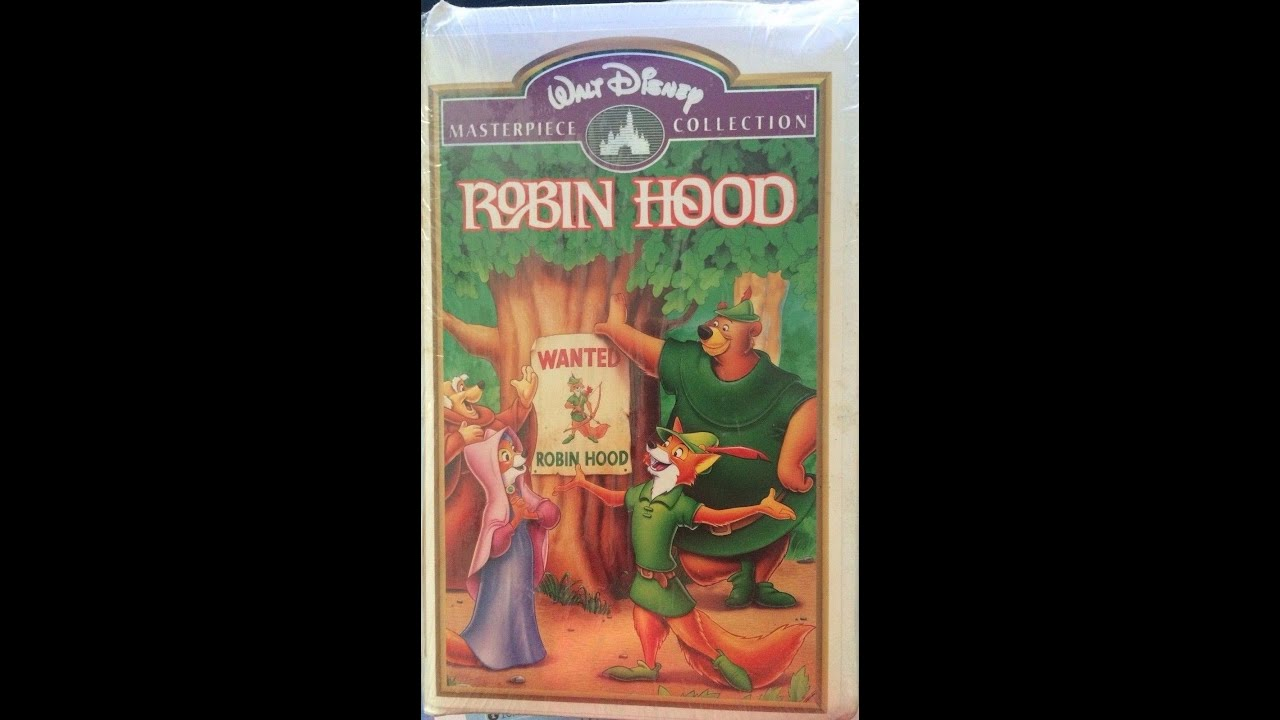 Opening To Robin Hood 1998 VHS - YouTube