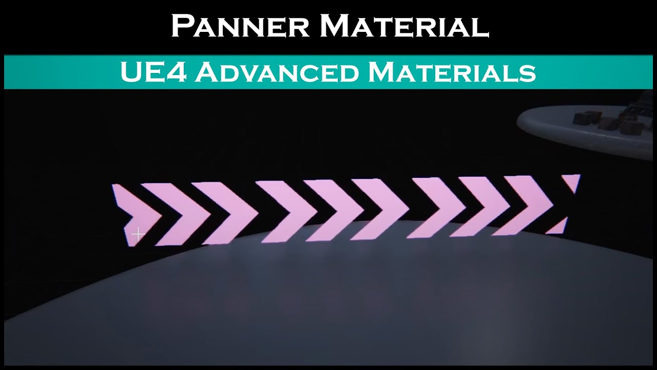 Ue4: advanced materials (Ep  13 Panner Node - Animated Material)