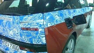 BMW lance sa première voiture électrique - corporate