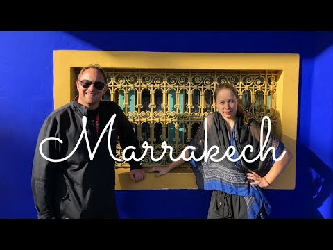 MARRAKECH MOROCCO - CITY TOUR - travel vlog