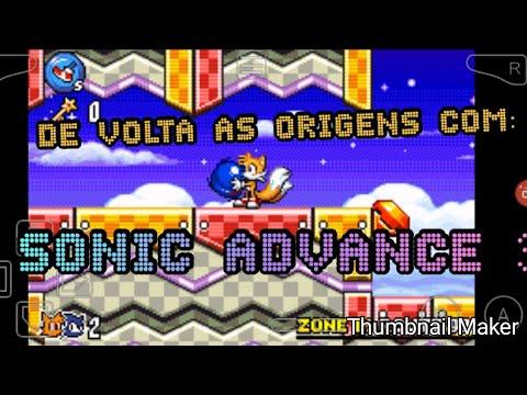Um Novo Das Antigas Com: Sonic Advance 3