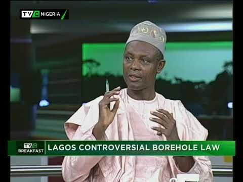 TVC Breakfast 28th September 2017 | Lagos Controversial Borehole Law