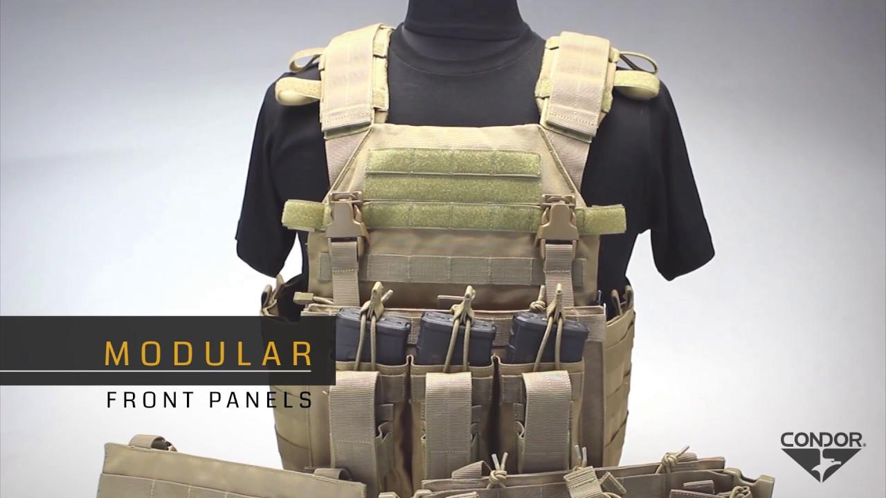 Vanquish Armor System (VAS) Plate Carrier - YouTube 5d1dd5baf663