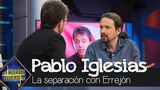 Pablo Iglesias, sobre Errejón: