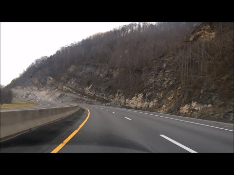 Countryside Driving - Interstate 75 (I-75) - Tennessee USA