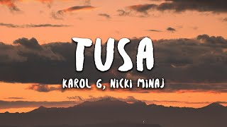 KAROL G, Nicki Minaj - Tusa (Letra / Lyrics)
