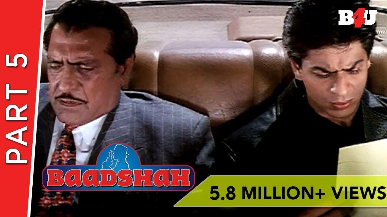 Baadshah   Shahrukh Khan, Twinkle Khanna, Johnny Lever   Part 5   B4U Mini  Theater