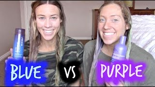 PURPLE VS BLUE Shampoo- What should you be using on you hair?