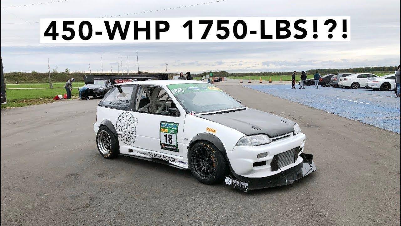 Supercharged, K20-Powered Suzuki Swift Barrels Around TMP