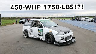 STUPID FAST! - Supercharged K20 Suzuki Swift Track Review Video